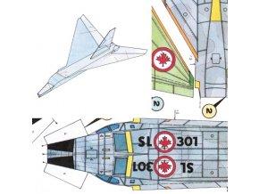 """Avro Canada CF-105 """"Arrow"""" 2ks"""