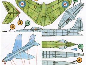 Lockheed P-80 Shooting Star, Hawker Hunter V