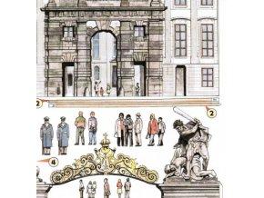 Pražský hrad - Matyášova brána