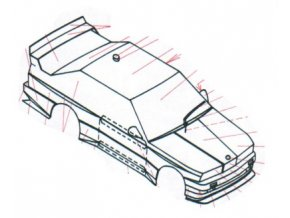 BMW M3 Evo 2,5 I