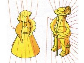Děvče a chlapec ze Ždiaru