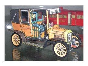 "Laurin a Klement taxi GDV 1909 - ""Petrohrad"""