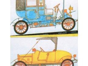 Věchet & spol. typ DC 10/12 HP, 1911 + Pražská továrna automobilů typ Velox, 1906