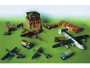 letiště RAF ze II. světové války