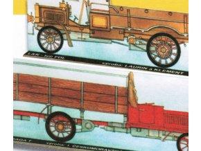 Laurin & Klement typ FDL - 1909, Praga T - 1912