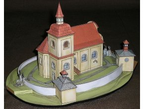 Poutní kostel Panny Marie Bolestné na Homoli