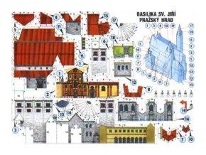 pohled - Basilika sv. Jiří