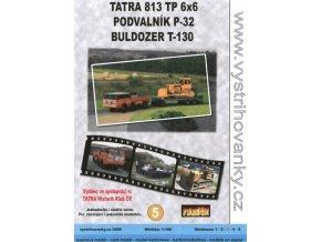 Tatra 813 TP 6x6 + P-32 + T-130