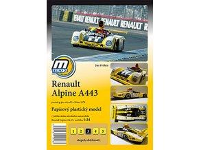 Renault Alpine 443 Le Mans 1978