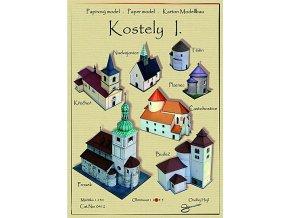 kostely 1 - Budeč, Nudvojovice, Častohostice, Křečhoř, Prosek, Starý Plzenec, Těšín