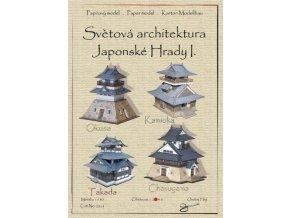 japonské hrady I - Okusa, Kamioka, Takada, Chasuyama