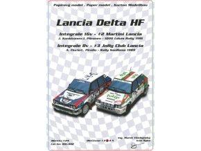 Lancia Delta HF - 2 modely