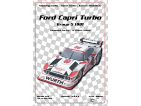 Ford Capri Turbo Zakspeed Racing
