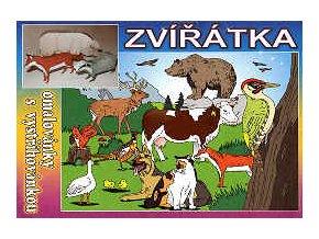 Liška, jezevec, divoké prase (Zvířátka ze Zoo)