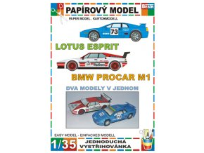 Lotus Esprit + BMW Procar