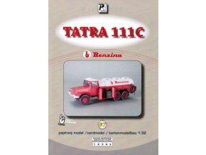 Tatra 111C - cisterna Benzina