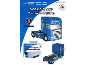 Scania R580 Topline/Highline