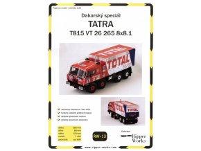 Tatra 815 VT 26 265 8x8.1 - Dakar 1988