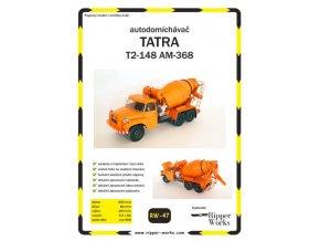 Tatra T2-148 AM-368 - autodomíchávač