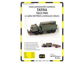 Tatra 815 PMS s radlicí BZ-T815 a břehovým dílem