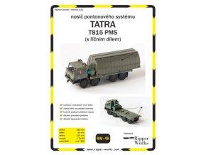 Tatra 815 PMS s říčním dílem
