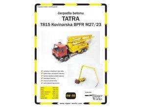 Tatra T815 Kovinarska BPFR M27/23