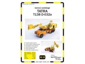 Tatra 138 - autobagr D-032a