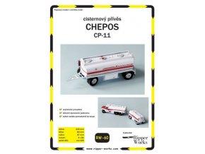 CHEPOS CP-11 - cisternový přívěs Benzina