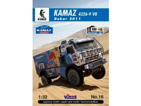 Kamaz 4326-9 VK Dakar 2011 [500]