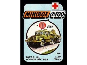 Tatra 141 + podvalník P32