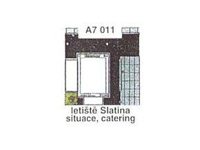 Letiště Slatina, situace, catering