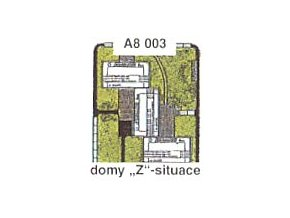 "Domy ""Z"" - situace"