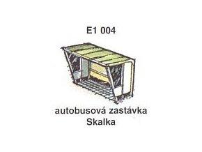 Autobusová zastávka Skalka (2ks)
