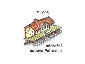 Nádražní budova Petrovice