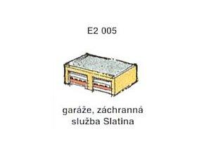 Garáže, záchranná služba Slatina (2ks)
