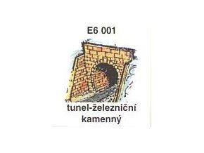 Tunel - železniční, kamenný