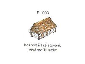 Hospodářské stavení, kovárna Tuležim (3ks)