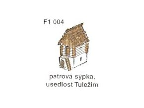 Patrová sýpka, usedlost Tuležim