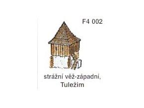 Strážní věž - západní, Tuležim (2ks)