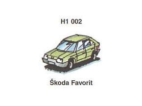 Škoda Favorit (5 ks)