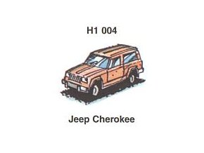 Jeep Cherokke (5 ks)