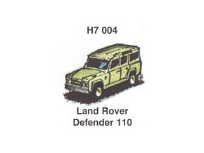 Land Rover Defender 110 (3 ks)