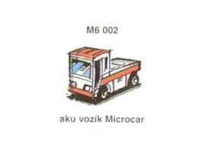 Aku vozík Microcar (4ks)