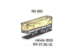 Návěs BSS NV 27.20.18