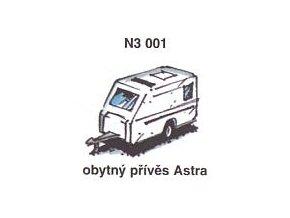 Obytný přívěs Astra (3ks)