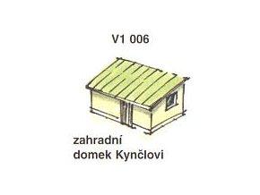 Zahradní domek Kynčlovi (2ks)
