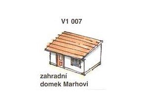 Zahradní domek Mahrovi (2ks)