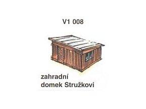Zahradní domek Stružkovi (2ks)
