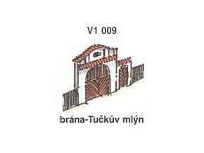 Brána - Tučkův mlýn (4ks)