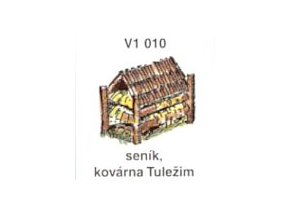 Seník, kovárna Tuležim (5ks)